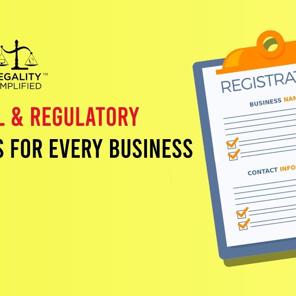 10 basic legal requirements for every business in india
