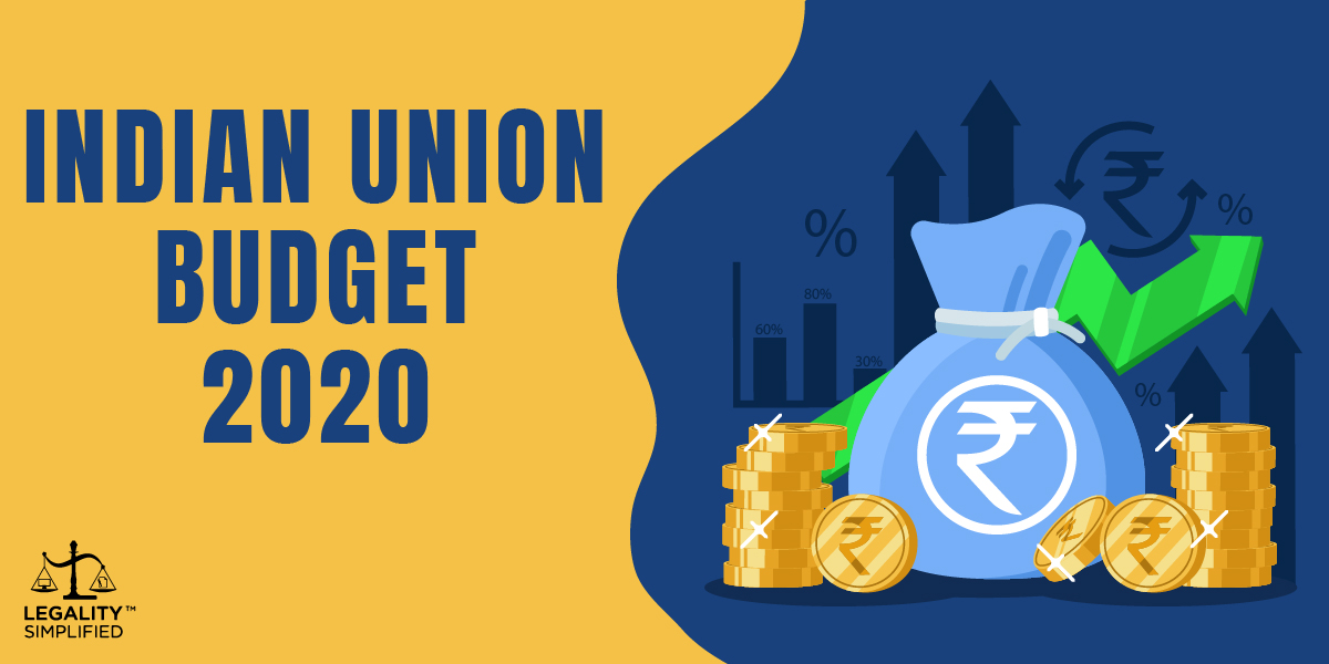 Indian Union Budget 2020 - 2021 Highlights