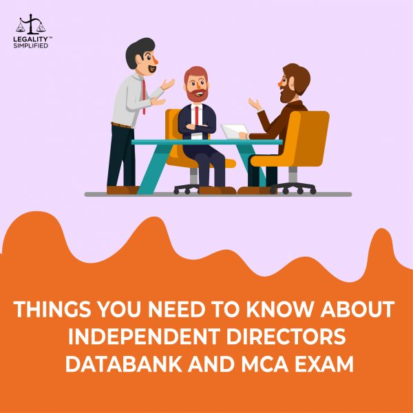 Independent Directors Databank and MCU Exam